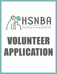 HSNBA volunteer application